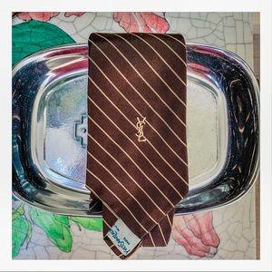 VINTAGE Yves Saint Laurent necktie